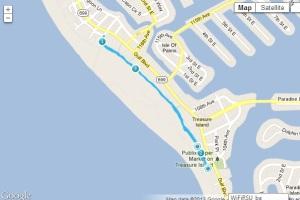 beach trail route